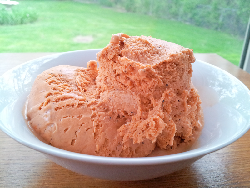 Thai Iced Tea Ice Cream - The HauteMeal